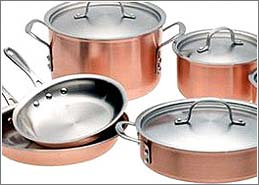 Copper Cooking Pots